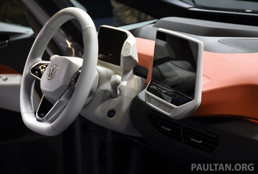 Volkswagen ID.3 pure electric car debuts – rear-wheel drive, up to 550 km range; from RM138k in Germany Image #1011683