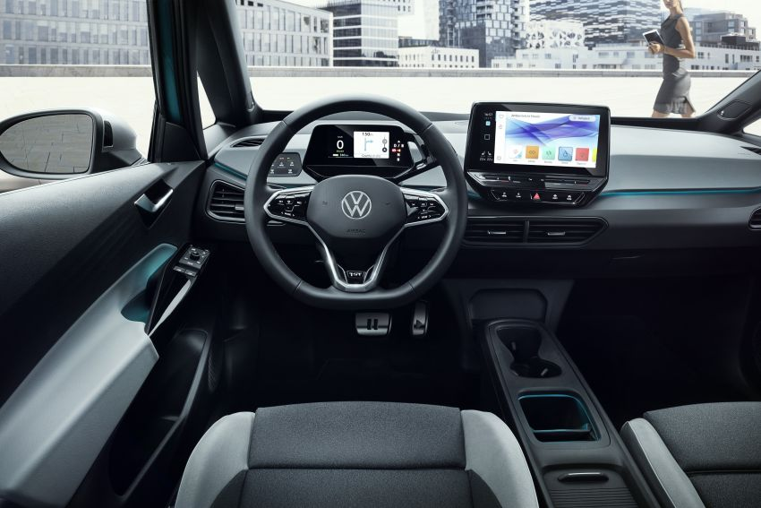 Volkswagen ID.3 pure electric car debuts – rear-wheel drive, up to 550 km range; from RM138k in Germany Image #1012268