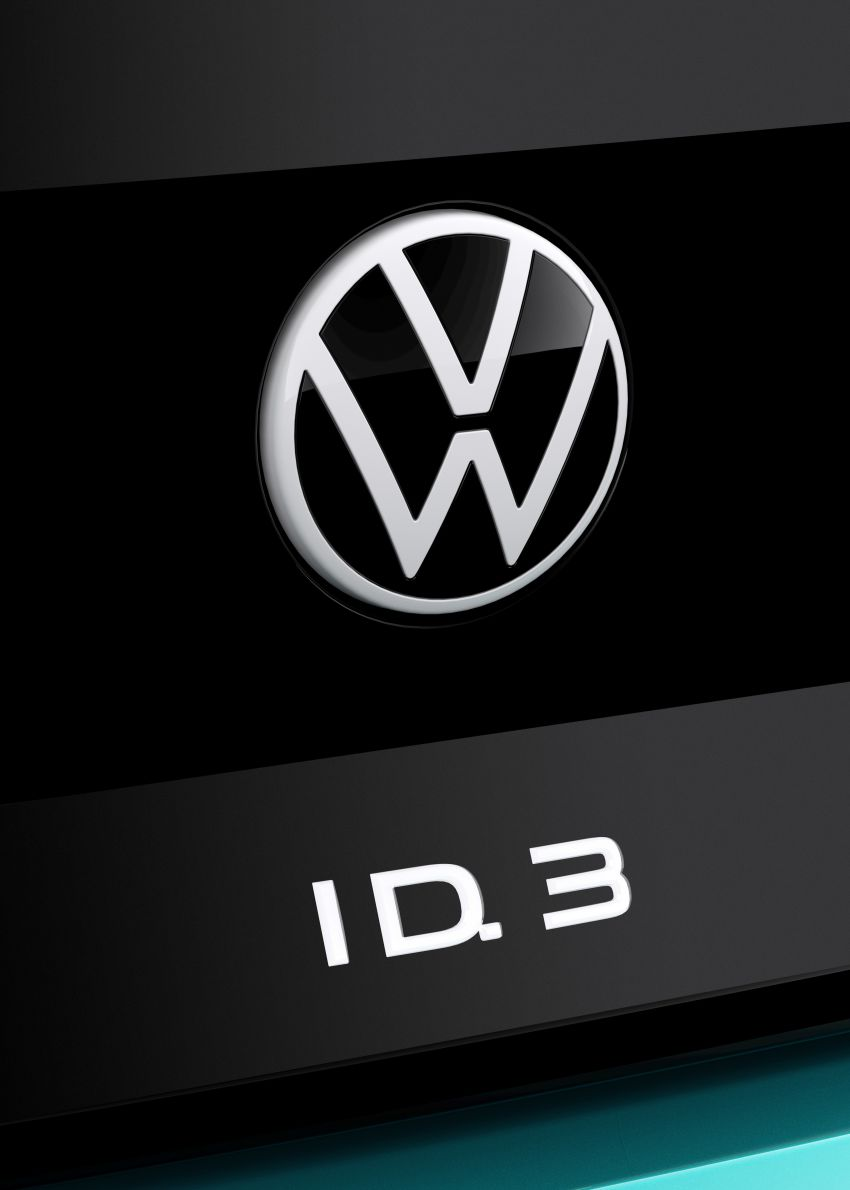Volkswagen ID.3 pure electric car debuts – rear-wheel drive, up to 550 km range; from RM138k in Germany Image #1012285