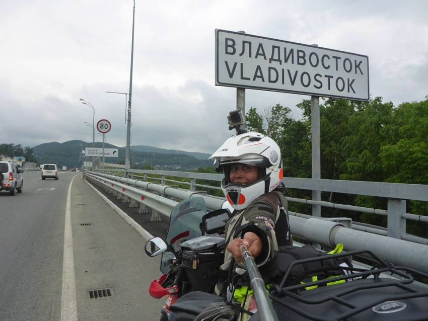 Malaysian lady rider Anita Yusof sets off on second Global Dream Ride – 7 continents, 70 countries Image #1028094