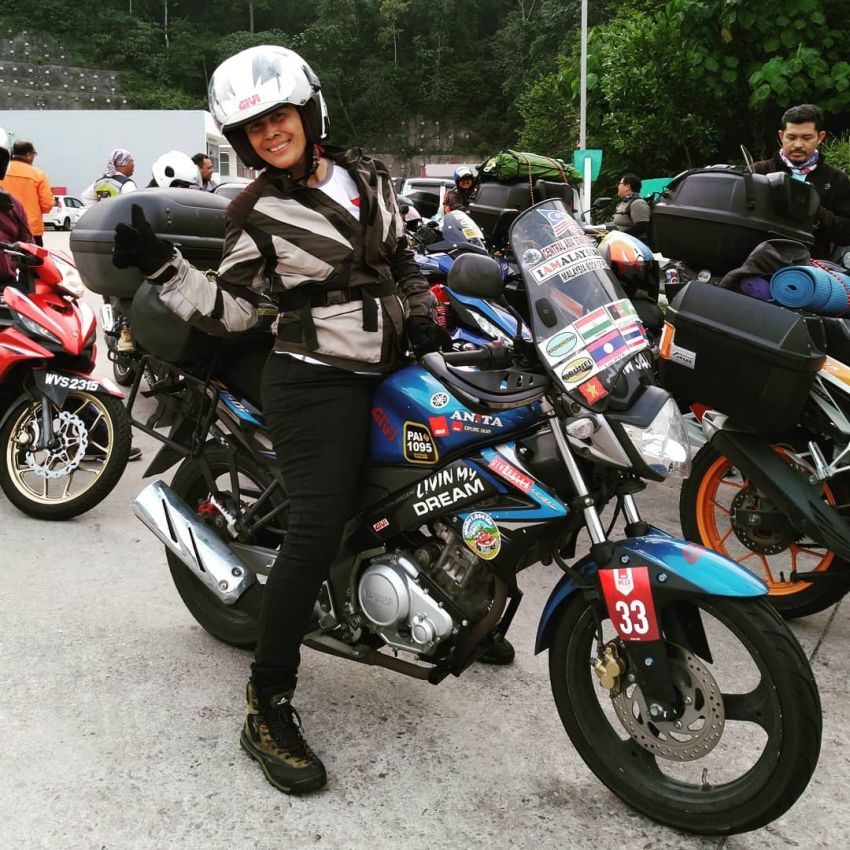 Malaysian lady rider Anita Yusof sets off on second Global Dream Ride – 7 continents, 70 countries Image #1028096