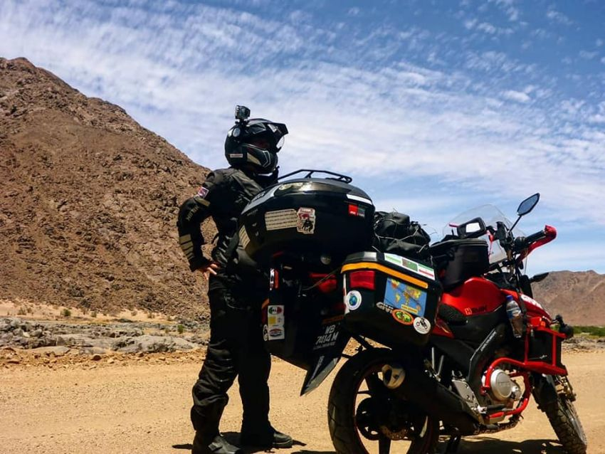 Malaysian lady rider Anita Yusof sets off on second Global Dream Ride – 7 continents, 70 countries Image #1028102
