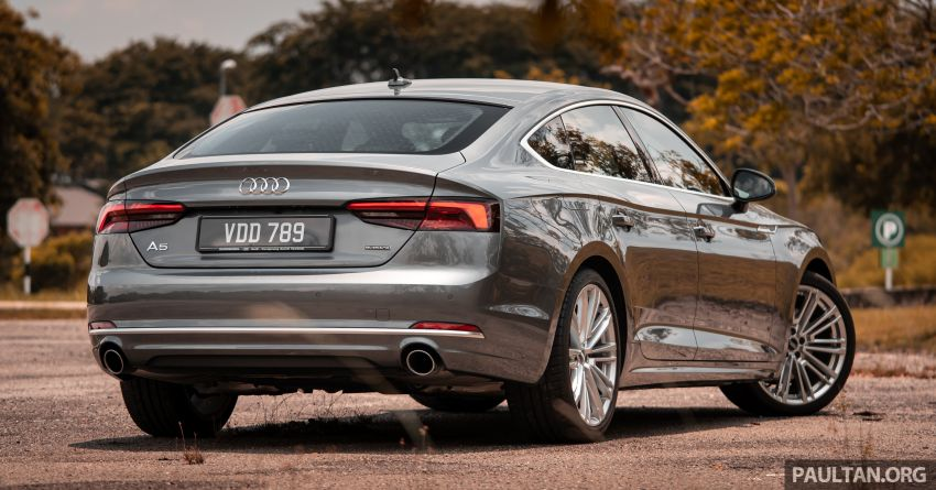 DRIVEN: 2019 Audi A5 Sportback – it's no underdog Image #1036337