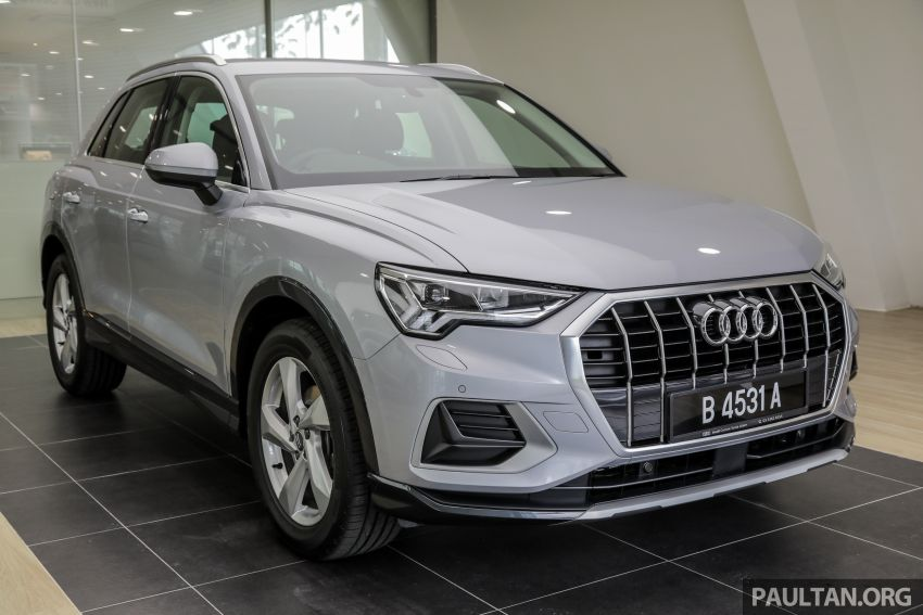 GALLERY: 2019 Audi Q3 advanced 1.4 TFSI S tronic – from RM270k; see it in person at PACE this weekend Image #1036354
