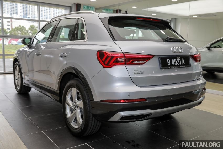 GALLERY: 2019 Audi Q3 advanced 1.4 TFSI S tronic – from RM270k; see it in person at PACE this weekend Image #1036355