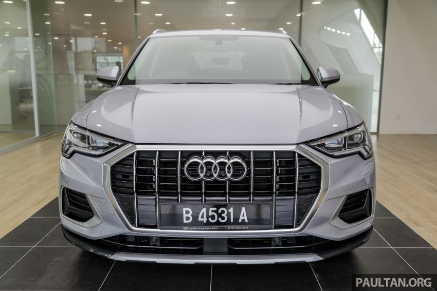 GALLERY: 2019 Audi Q3 advanced 1.4 TFSI S tronic – from RM270k; see it in person at PACE this weekend Image #1036357