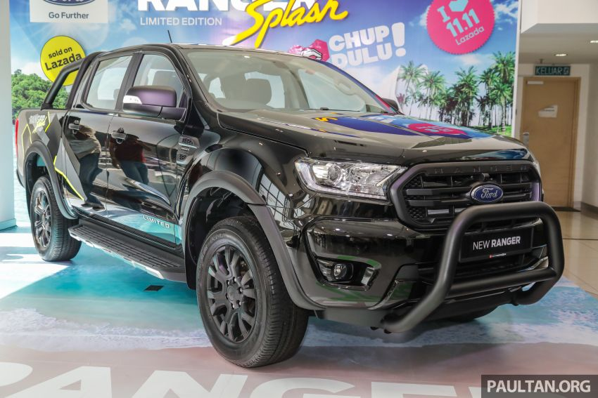 Ford Ranger Splash launched in Malaysia – Lazada 11.11 Shopping Festival exclusive; from RM139k Image #1034928
