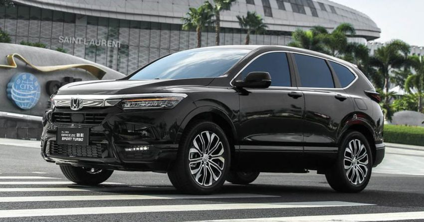 2019 Honda Accord >> Honda Breeze introduced in China – restyled CR-V with ...