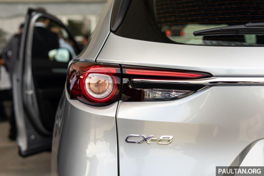 Mazda CX-8 2019 CKD kini sudah boleh ditempah – 3 baris-tempat duduk, 2.5L petrol & 2.2 diesel, 4 varian Image #1023556