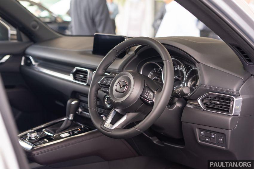 Mazda CX-8 2019 CKD kini sudah boleh ditempah – 3 baris-tempat duduk, 2.5L petrol & 2.2 diesel, 4 varian Image #1023558
