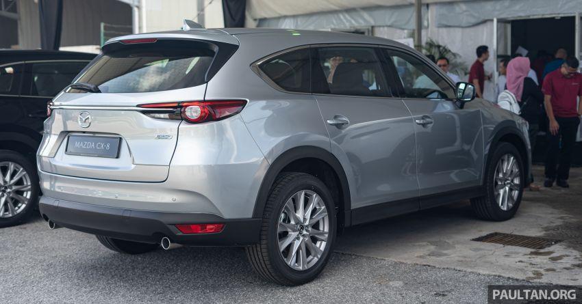 Mazda CX-8 2019 CKD kini sudah boleh ditempah – 3 baris-tempat duduk, 2.5L petrol & 2.2 diesel, 4 varian Image #1023565