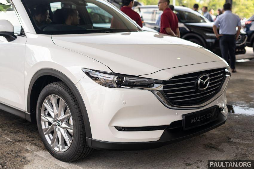 Mazda CX-8 2019 CKD kini sudah boleh ditempah – 3 baris-tempat duduk, 2.5L petrol & 2.2 diesel, 4 varian Image #1023548