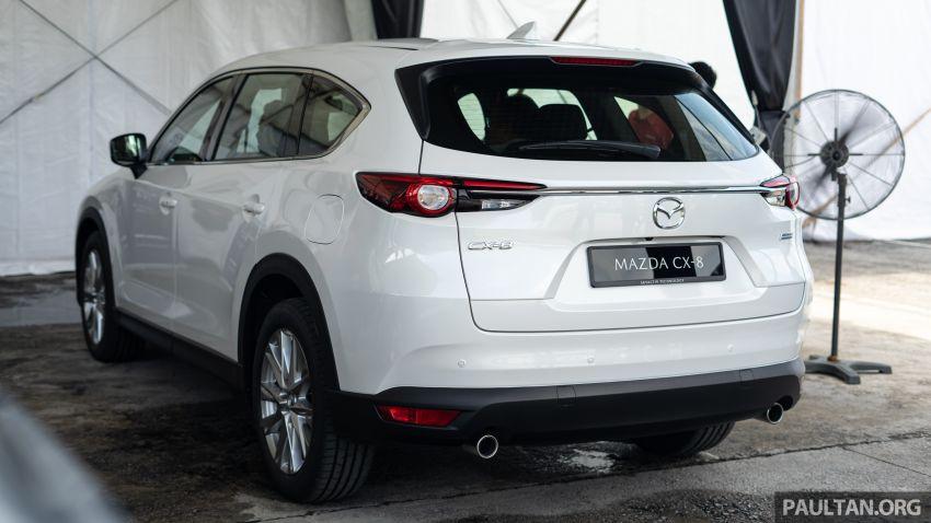 Mazda CX-8 2019 CKD kini sudah boleh ditempah – 3 baris-tempat duduk, 2.5L petrol & 2.2 diesel, 4 varian Image #1023549