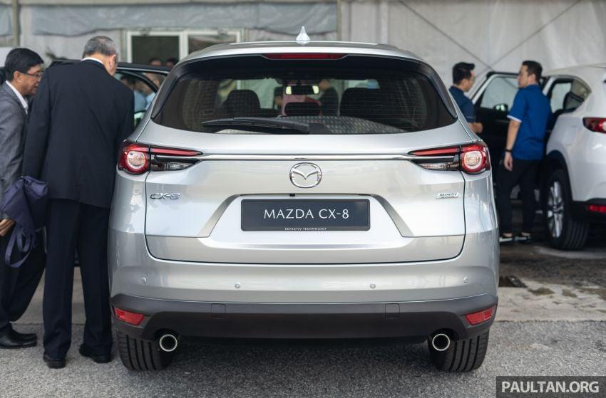 Mazda CX-8 2019 CKD kini sudah boleh ditempah – 3 baris-tempat duduk, 2.5L petrol & 2.2 diesel, 4 varian Image #1023552