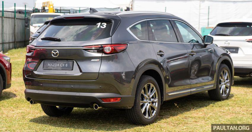 Mazda CX-8 2019 CKD kini sudah boleh ditempah – 3 baris-tempat duduk, 2.5L petrol & 2.2 diesel, 4 varian Image #1024014