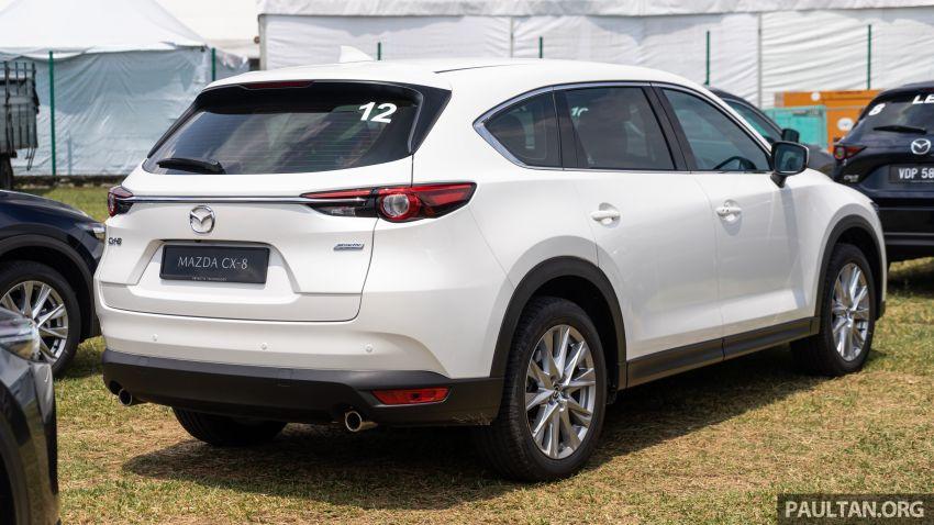 Mazda CX-8 2019 CKD kini sudah boleh ditempah – 3 baris-tempat duduk, 2.5L petrol & 2.2 diesel, 4 varian Image #1024015