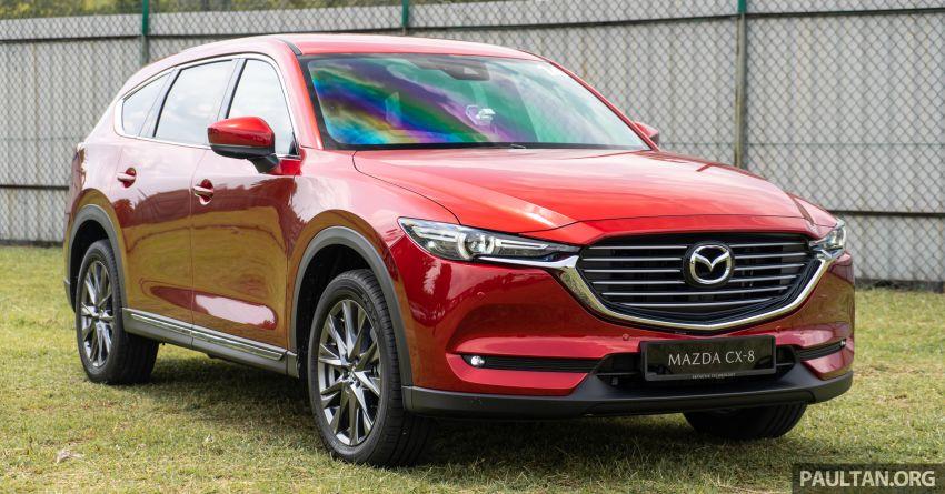 Mazda CX-8 2019 CKD kini sudah boleh ditempah – 3 baris-tempat duduk, 2.5L petrol & 2.2 diesel, 4 varian Image #1024005