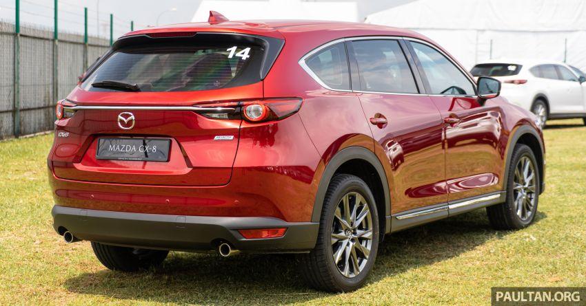 Mazda CX-8 2019 CKD kini sudah boleh ditempah – 3 baris-tempat duduk, 2.5L petrol & 2.2 diesel, 4 varian Image #1024011