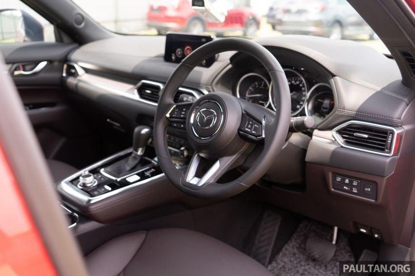 Mazda CX-8 2019 CKD kini sudah boleh ditempah – 3 baris-tempat duduk, 2.5L petrol & 2.2 diesel, 4 varian Image #1024029