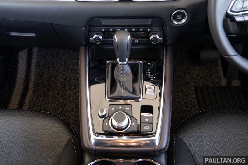 Mazda CX-8 2019 CKD kini sudah boleh ditempah – 3 baris-tempat duduk, 2.5L petrol & 2.2 diesel, 4 varian Image #1024021
