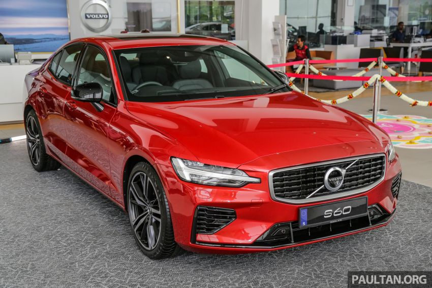 2019 Volvo S60 T8 R-Design launched in Malaysia – 2.0L PHEV, 407 hp, 640 Nm, 0-100 km/h in 4.4s, RM296k Image #1035648