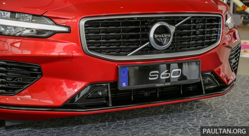 2019 Volvo S60 T8 R-Design launched in Malaysia – 2.0L PHEV, 407 hp, 640 Nm, 0-100 km/h in 4.4s, RM296k Image #1035657