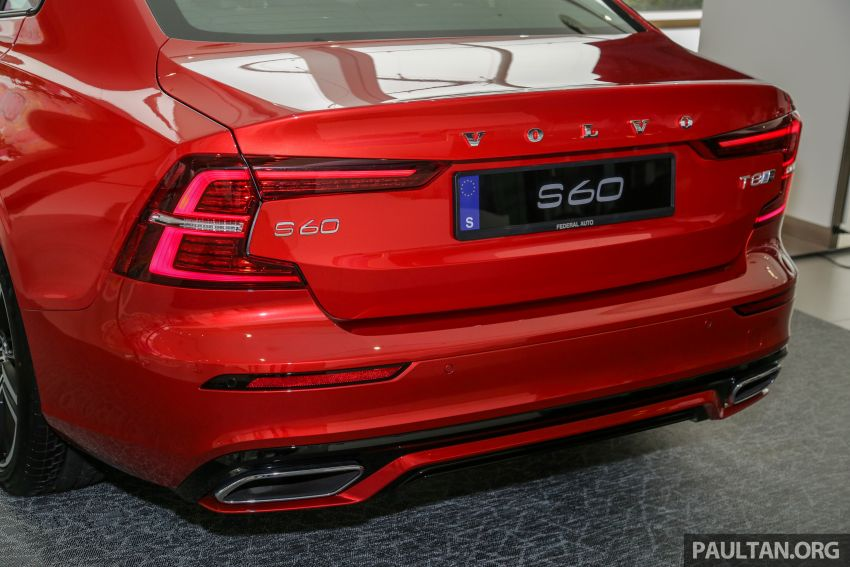 2019 Volvo S60 T8 R-Design launched in Malaysia – 2.0L PHEV, 407 hp, 640 Nm, 0-100 km/h in 4.4s, RM296k Image #1035666