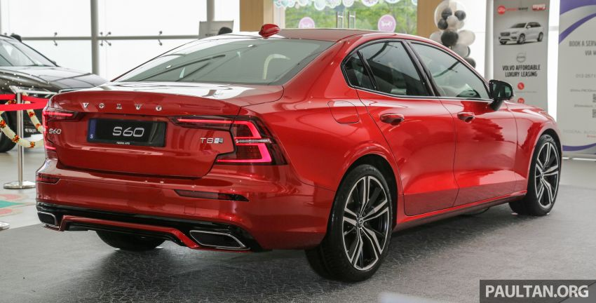 2019 Volvo S60 T8 R-Design launched in Malaysia – 2.0L PHEV, 407 hp, 640 Nm, 0-100 km/h in 4.4s, RM296k Image #1035649