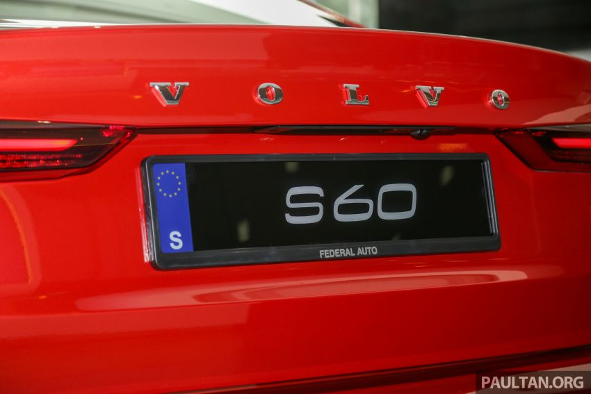 2019 Volvo S60 T8 R-Design launched in Malaysia – 2.0L PHEV, 407 hp, 640 Nm, 0-100 km/h in 4.4s, RM296k Image #1035669
