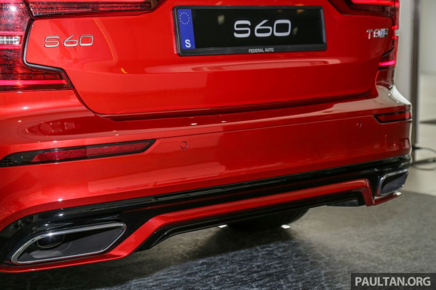 2019 Volvo S60 T8 R-Design launched in Malaysia – 2.0L PHEV, 407 hp, 640 Nm, 0-100 km/h in 4.4s, RM296k Image #1035670