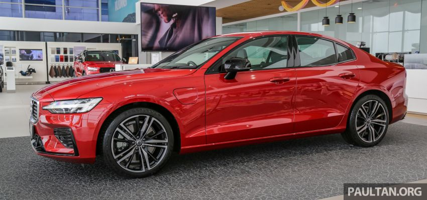 2019 Volvo S60 T8 R-Design launched in Malaysia – 2.0L PHEV, 407 hp, 640 Nm, 0-100 km/h in 4.4s, RM296k Image #1035650