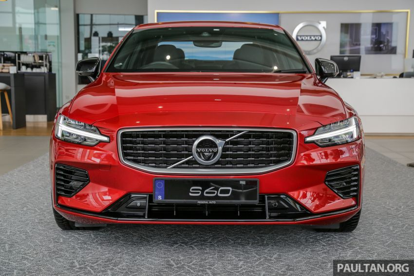 2019 Volvo S60 T8 R-Design launched in Malaysia – 2.0L PHEV, 407 hp, 640 Nm, 0-100 km/h in 4.4s, RM296k Image #1035651