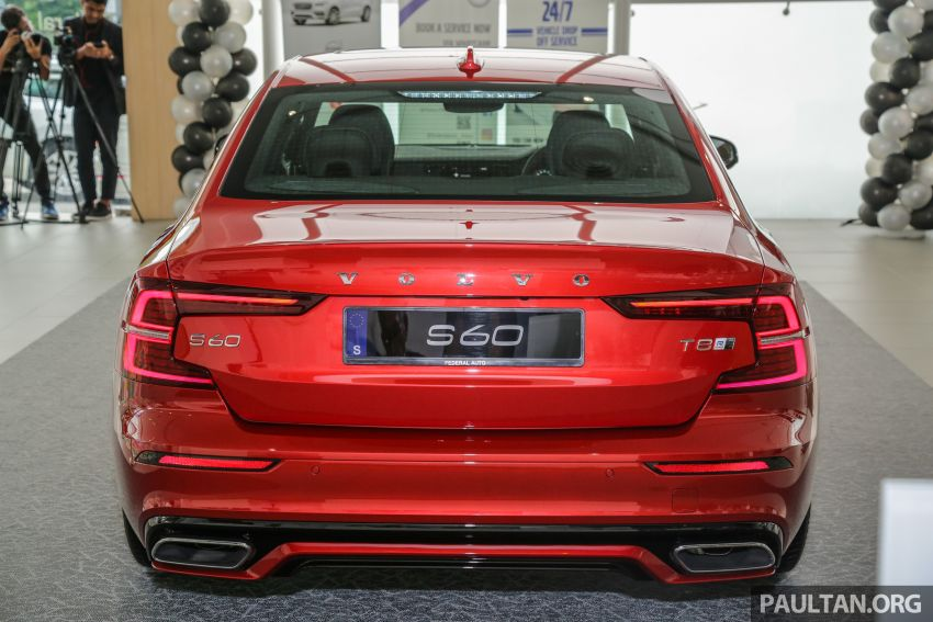 2019 Volvo S60 T8 R-Design launched in Malaysia – 2.0L PHEV, 407 hp, 640 Nm, 0-100 km/h in 4.4s, RM296k Image #1035652