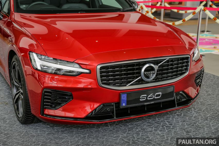 2019 Volvo S60 T8 R-Design launched in Malaysia – 2.0L PHEV, 407 hp, 640 Nm, 0-100 km/h in 4.4s, RM296k Image #1035653