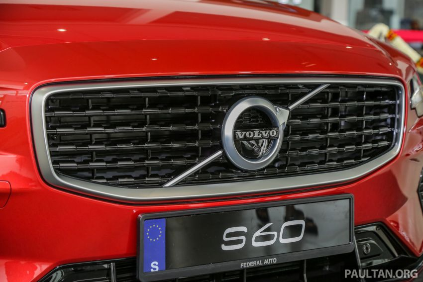 2019 Volvo S60 T8 R-Design launched in Malaysia – 2.0L PHEV, 407 hp, 640 Nm, 0-100 km/h in 4.4s, RM296k Image #1035656