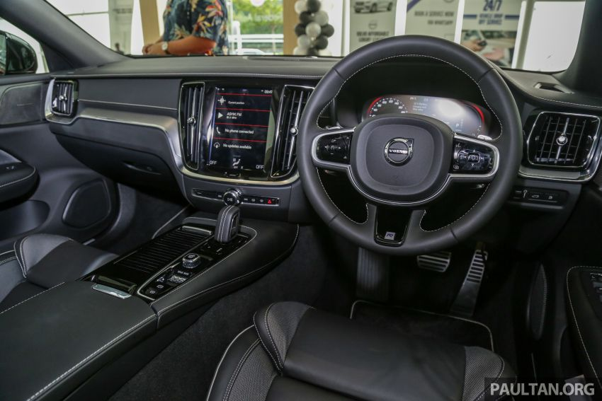 2019 Volvo S60 T8 R-Design launched in Malaysia – 2.0L PHEV, 407 hp, 640 Nm, 0-100 km/h in 4.4s, RM296k Image #1035693