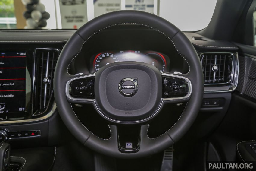 2019 Volvo S60 T8 R-Design launched in Malaysia – 2.0L PHEV, 407 hp, 640 Nm, 0-100 km/h in 4.4s, RM296k Image #1035677