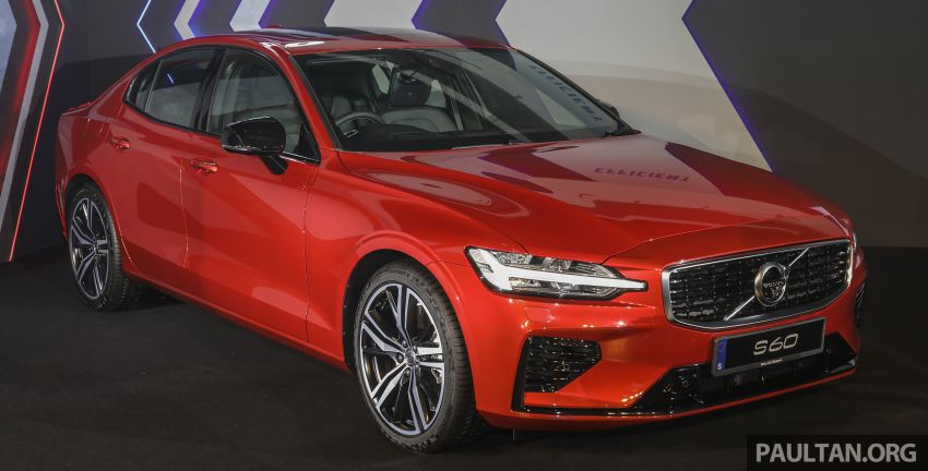 2019 Volvo S60 T8 R-Design launched in Malaysia – 2.0L PHEV, 407 hp, 640 Nm, 0-100 km/h in 4.4s, RM296k Image #1035198