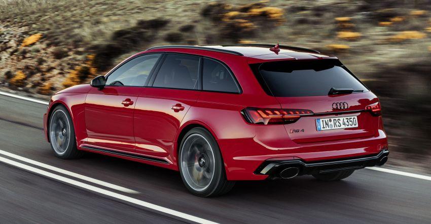 2020 B9 Audi RS4 Avant facelift – 17% more efficient Image #1024073