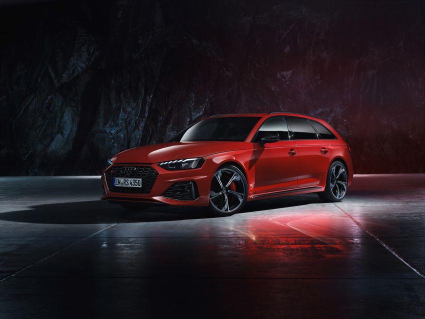 2020 B9 Audi RS4 Avant facelift – 17% more efficient Paul ...