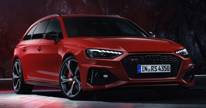 2020 B9 Audi RS4 Avant facelift – 17% more efficient Image #1024106