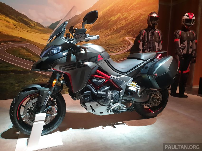 2020 Ducati Multistrada 1260 S gets Grand Tour variant Image #1036080