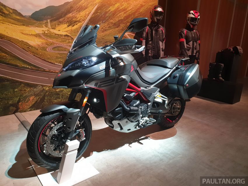 2020 Ducati Multistrada 1260 S gets Grand Tour variant Image #1036081