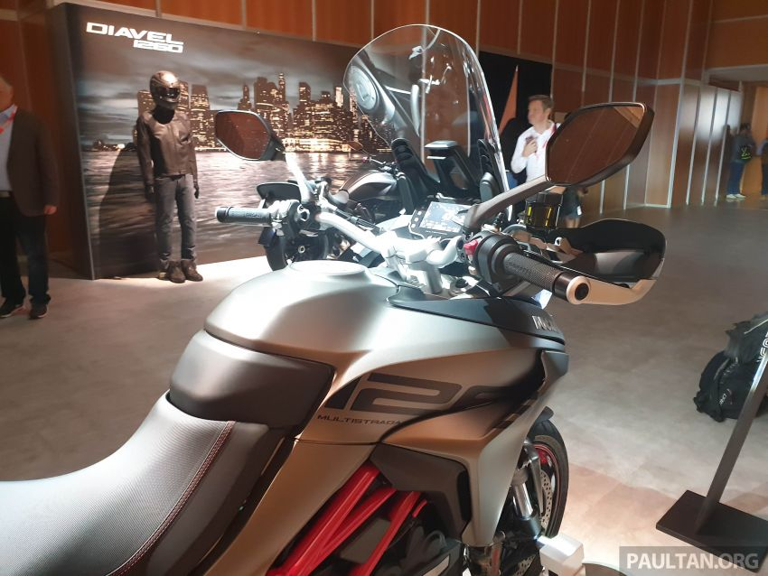 2020 Ducati Multistrada 1260 S gets Grand Tour variant Image #1036086