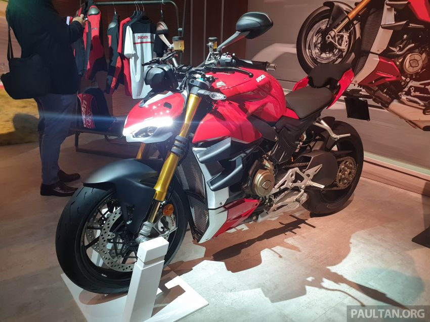 2020 Ducati Streetfighter V4 shown at DWP2020 – 208 hp, 123 Nm, 178 kg, from the equivalent of RM93,094 Image #1034619