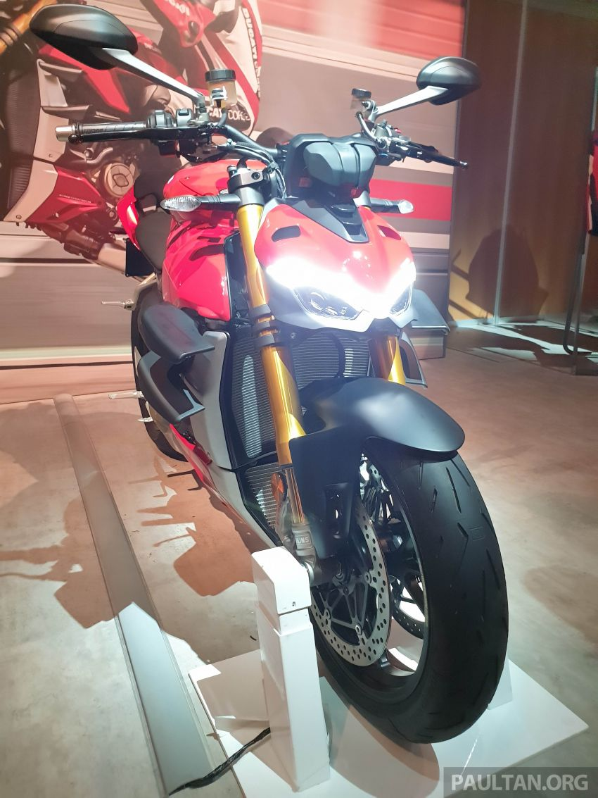 2020 Ducati Streetfighter V4 shown at DWP2020 – 208 hp, 123 Nm, 178 kg, from the equivalent of RM93,094 Image #1034631