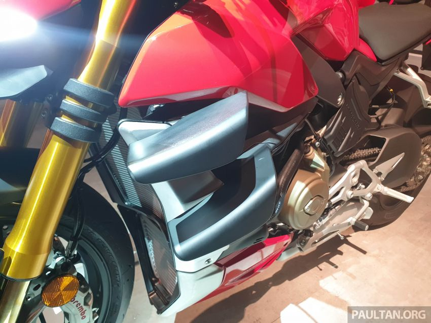 2020 Ducati Streetfighter V4 shown at DWP2020 – 208 hp, 123 Nm, 178 kg, from the equivalent of RM93,094 Image #1034620