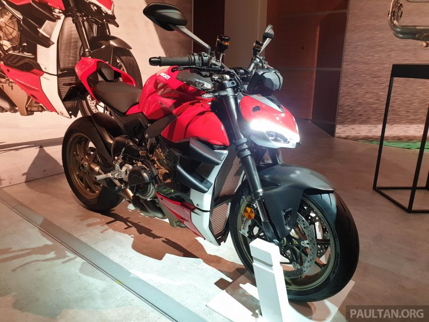 2020 Ducati Streetfighter V4 shown at DWP2020 – 208 hp, 123 Nm, 178 kg, from the equivalent of RM93,094 Image #1034639