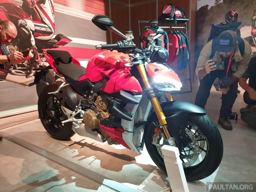 2020 Ducati Streetfighter V4 shown at DWP2020 – 208 hp, 123 Nm, 178 kg, from the equivalent of RM93,094 Image #1034624