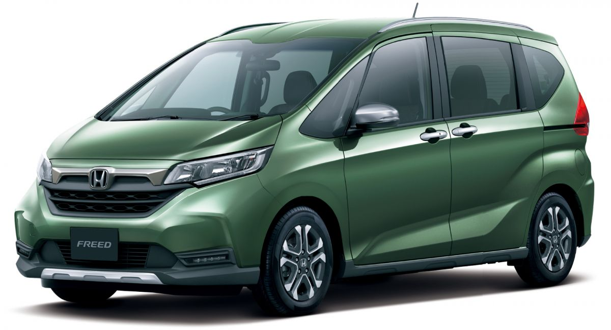 2020 Honda Freed facelift gets SUV-style Crosstar trim ...